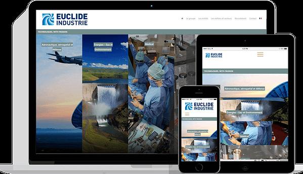 Site internet EUCLIDE