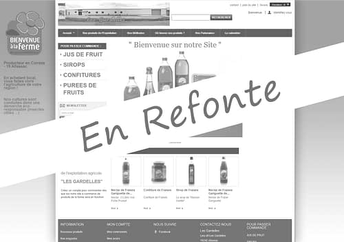 E-commerce «Les Gardelles» à Allassac