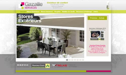 Site internet Catalogue Monsieur Store