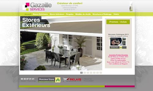 Site internet Catalogue Monsieur Store